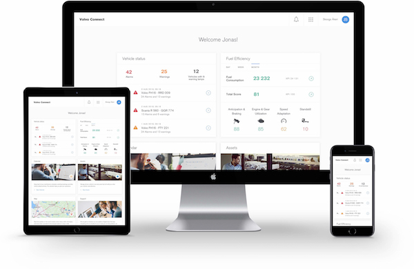 VOLVO TRUCKS SIMPLIFIES DAILY OPERATIONS WITH NEW INTERFACE FOR DIGITAL SERVICES – VOLVO CONNECT