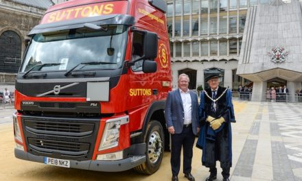 GLOBAL LOGISTICS SUPPLIER SUTTONS ANNOUNCES NEW BRAND IDENTITY