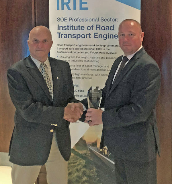 FLOGAS FLEET ENGINEER SCOOPS NATIONAL AWARD