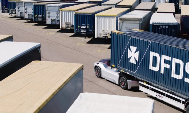 Driverless lorries could dominate UK ferry traffic within a generation