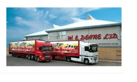 W.E. DEANE EXPANDS INTO THE LOGISTICS MARKET