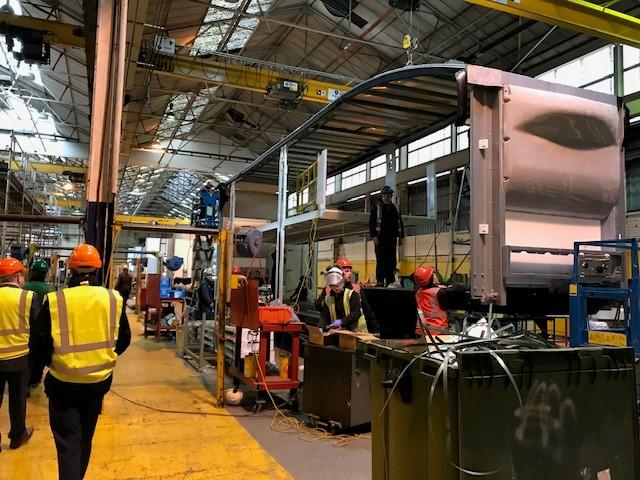 FTA Group Visits Cartwright – and Praises British Manufacturer