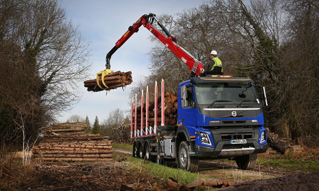 FIRST NEW TRUCK FOR JOHN MCDERMOTT IS A VOLVO FMX