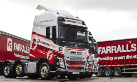 FOUR NEW VOLVO FH TRUCKS HELP FARRALL'S GROUP MAINTAIN ITS QUALITY SERVICE