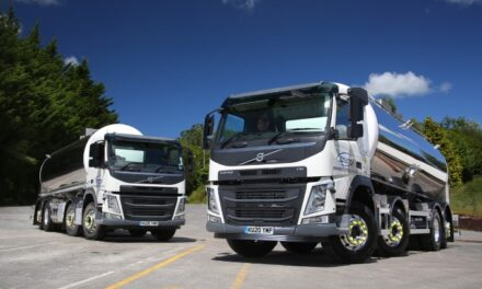 NEW VOLVO FM TANKERS ARE THE PERFECT CHOICE FOR WINCANTON