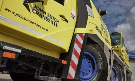 Michelin tyre deal takes John Sutch Cranes to new heights
