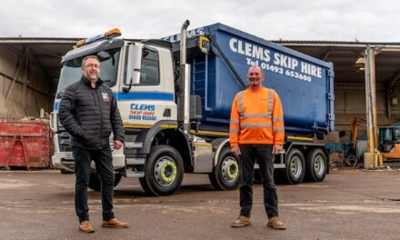 NVESTMENT INTO HIAB UPLIFTS WASTE FIRM'S 30-STRONG FLEET