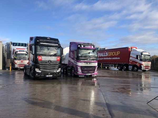 Europe's Largest Truckwash celebrates essential workers  for National Lorry Week