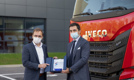 New LNG-fuelled IVECO S-WAY trucks make partnership between IVECO and Arcese even more sustainable