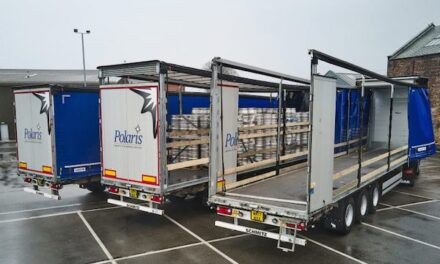 SCHMITZ CARGOBULL'S HEIGHT-ADJUSTABLE TRAILERS SECURE RETURN ORDER FROM POLARIS GROUP