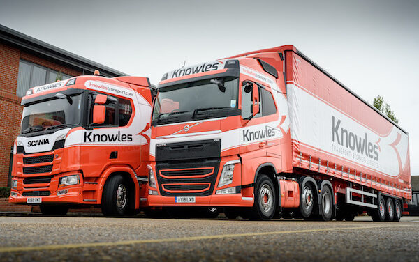 KNOWLES TRANSPORT A PERFECT SWEETENER FOR  THE SILVER SPOON COMPANY
