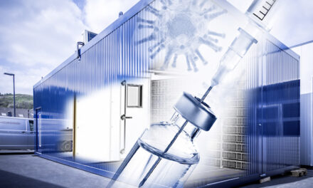 For the development of a vaccine logistics system: Deep-freeze storage in container design