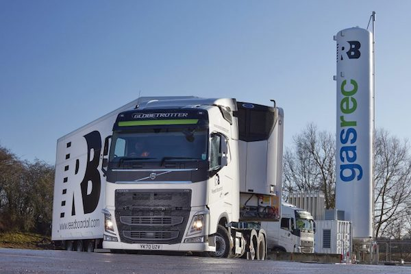 REED BOARDALL INSTALLS NEW BIO-LNG REFUELLING STATION AT ITS BOROUGHBRIDGE BASE