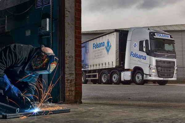FOLSANA PRESSED SECTIONSUPGRADESWITH NEW VOLVO FH