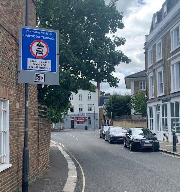 Videalert Cameras Enforcing Low Traffic Neighbourhood Scheme For London Borough Of Hammersmith And Fulham