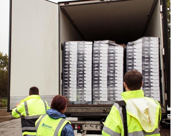 Oakland International Distress Load Capacity Increased