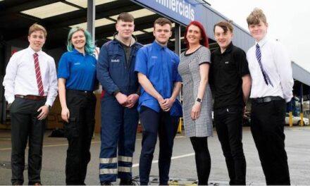 Award Winning Apprenticeship Scheme for Motus Commercials