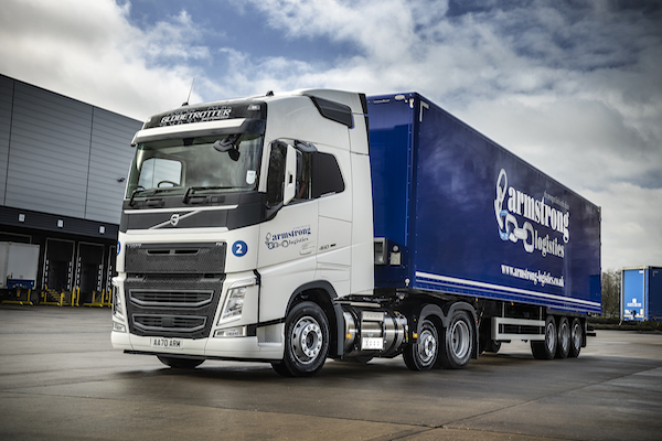 LNG  TECHNOLOGY  SECURES  NEW VOLVO  ORDER  AT  ARMSTRONG  LOGISTICS