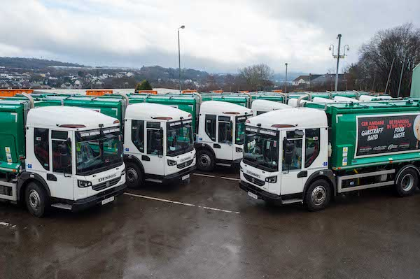 Caerphilly County Borough Council replaces over 300 vehicles