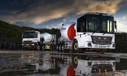 Cement transporter saves on tyres and time with AES workshop solutions