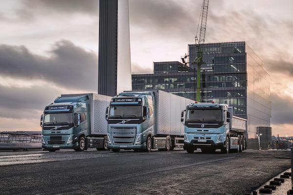 VOLVO TRUCKS READY TO ELECTRIFY A LARGE PART OF GOODS TRANSPORT