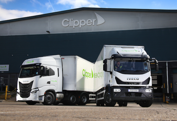 Clipper Logistics continues IVECO relationship with an order of 26 IVECO S-WAY 6×2 tractors and 63 Eurocargo 18-tonne rigids