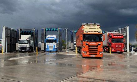 Truckwash boss raises hundreds for HGV driver mental health awareness