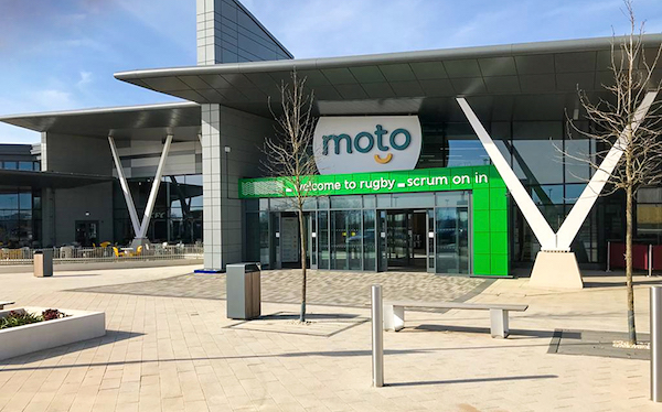 Moto leading the charge on electric vehicles at new Rugby Services and plans for ultra-rapid chargers at every UK site