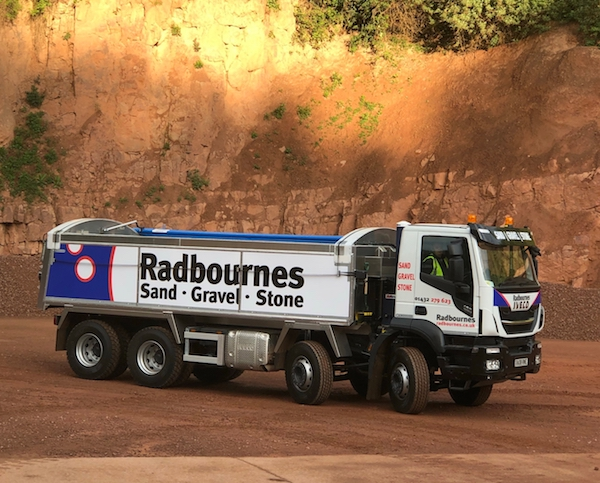 IVECO Ltd Cranes Farm Road, Basildon Essex SS14 3AD www.IVECO.co.ukIVECO tippers are tip top for Radbournes