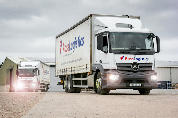 Ryder provides comprehensive truck solution to support new O-licence operator Pass Logistics
