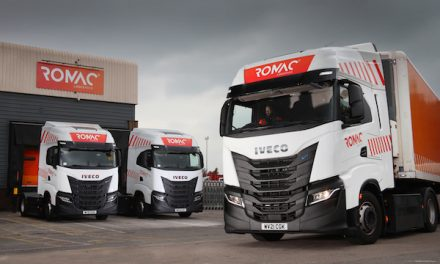 10 CNG-fuelled IVECO S-WAY NP 460 for Romac Logistics