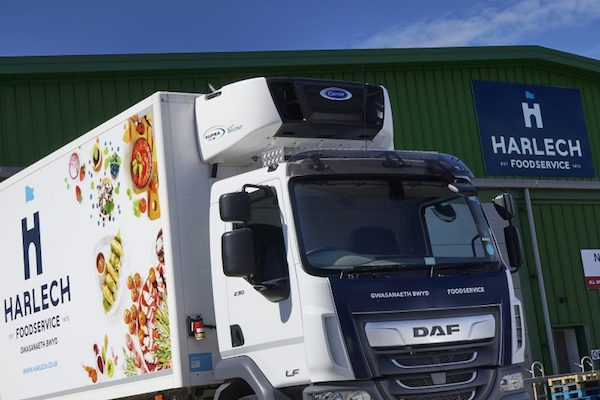 Four New Carrier Transicold Supra 850 MT Silent Units Add Power and Performance to Harlech Foodservice's Fleet