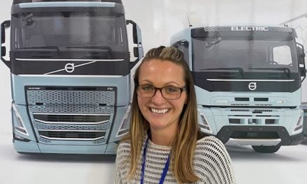 AMY STOKES JOINS VOLVO TRUCKS AS HEAD OF E-MOBILITY